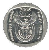 1 rand (en Venda et Ndébélé - ISEWULA AFRIKA) -  avers