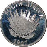 1 rand (femme) – avers
