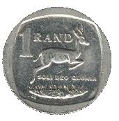 1 rand (en Venda et Ndébélé - ISEWULA AFRIKA) -  revers