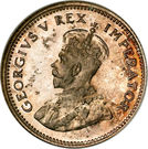 6 pence - George V (SOUTH AFRICA - SUID AFRIKA) – avers