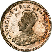6 pence - George V (SOUTH AFRICA - SUID AFRIKA) -  avers