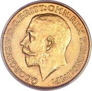 1 souverain - George V – avers