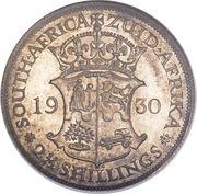 "2½ shillings - George V (Type 1 - ""ZUID-AFRIKA"") – revers"