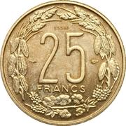 25 francs (Essai) – revers