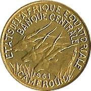 5 francs (Essai) – avers