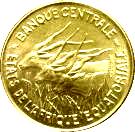 100 francs (Piedfort) – avers