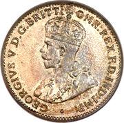 3 pence - George V – avers