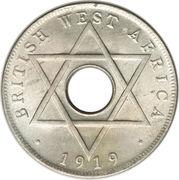 ½ penny - George V – revers