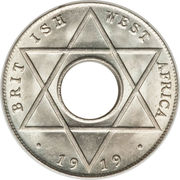 1/10 penny - George V -  revers