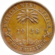 2 shillings - George VI -  revers