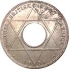 1/10 penny - Edward VII – revers