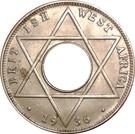 1/10 penny - Edward VIII – revers