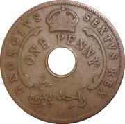 1 penny - George VI (Monnaie hybride) – avers