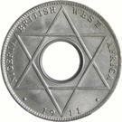 1/10 penny - George V – revers