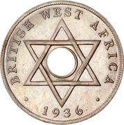 1 penny - Edward VIII (Monnaie hybride) – revers