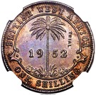 1 Shilling - George VI (Trial Strike) – revers