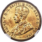 1 Shilling - George V (Essai) – avers