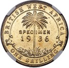 1 Shilling - George V (Essai) – revers