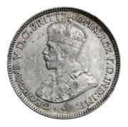6 pence - George V – avers