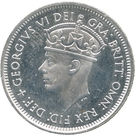 1 Shilling - George VI (Essai) – avers