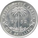 1 Shilling - George VI (Essai) – revers