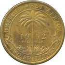 2 Shillings - George VI (Essai) – revers
