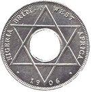 1/10 Penny - Edward VII (Essai) – revers