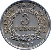 3 pence - Elizabeth II – revers