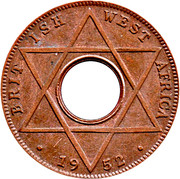 1/10 penny - George VI – revers