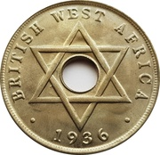 1 penny - Edward VIII -  revers