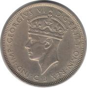 3 pence - George VI -  avers
