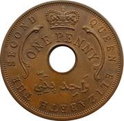 1 penny - Elizabeth II – avers