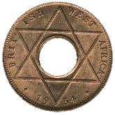 1/10 penny - Elizabeth II – revers
