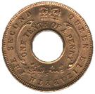 1/10 penny - Elizabeth II – avers
