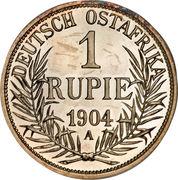 1 roupie - Wilhelm II -  revers