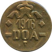 20 heller - Wilhelm II (laiton) – avers