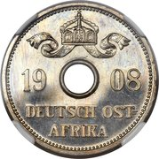 10 Heller - Wilhelm II (Essai) – avers