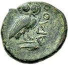 Bronze Æ18 (Agathopolis) – revers