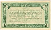 50 centimes - Chambre de Commerce d'Agen [47] <Sans filigrane> – revers
