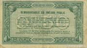 50 centimes - Chambre de Commerce d'Agen [47] <Filigrane abeille> – revers