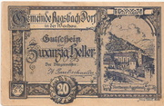20 Heller (Aggsbach Dorf) -  avers