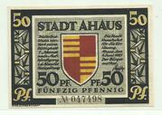50 Pfennig (Ahaus, Stadt) – avers