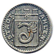 10 pfennig - Ahlen – avers