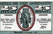 25 Pfennig (Ahrensbök) – avers