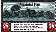 25 Pfennig (Ahrensbök) – revers