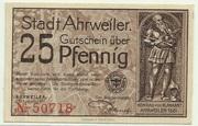 25 Pfennig (Ahrweiler, Stadt) – avers