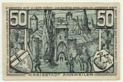 50 Pfennig (Ahrweiler, Stadt) – revers
