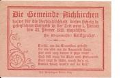 10 Heller (Aichkirchen) – revers
