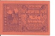 50 Heller (Aichkirchen) – avers
