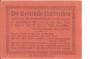 50 Heller (Aichkirchen) – revers